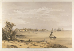 Fort and Harbour of Colombo